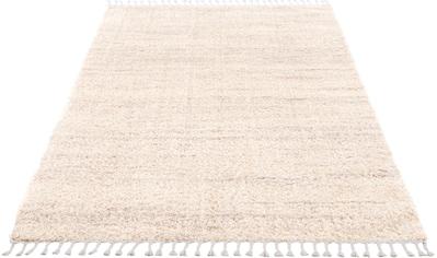 Hochflor - Teppich, »Pulpy 524«, Carpet City, rechteckig, Höhe 30 mm, maschinell gewebt kaufen