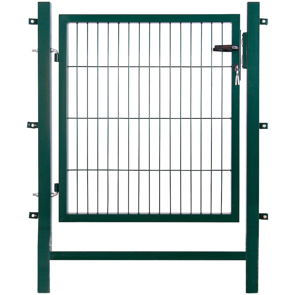Gartentor , LxH: 1x1 m, grün