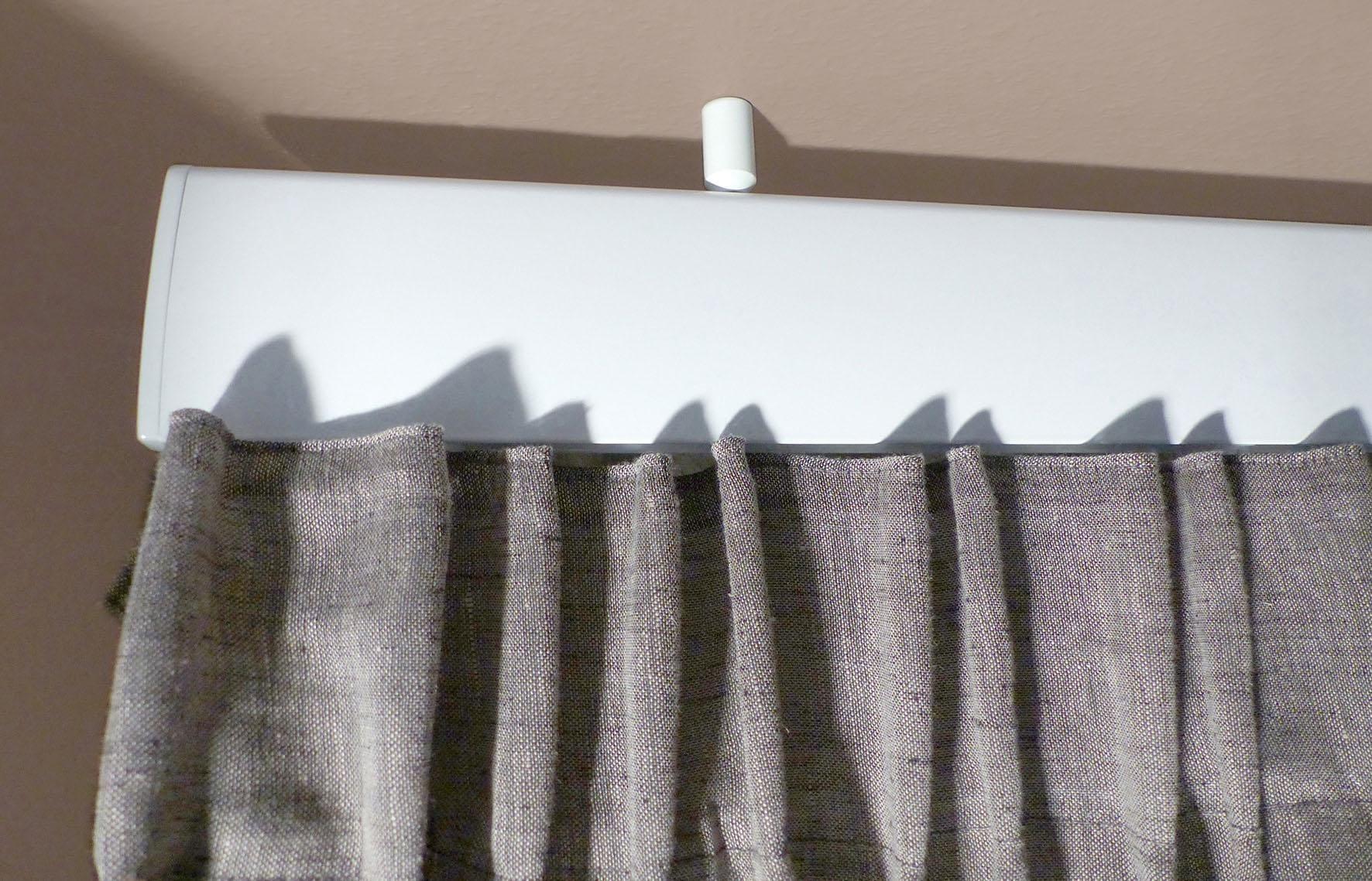 indeko Innenlaufschiene Ovum2, 1 läufig-läufig, Wunschmaßlänge weiß Gardinenschienen Gardinen Vorhänge