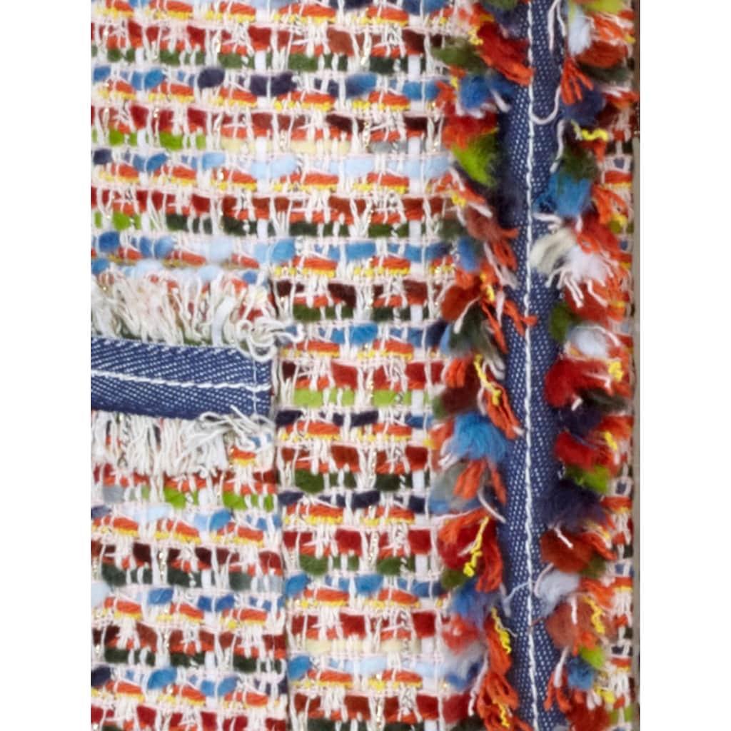 Mona Blazer aus Multicolor-Bouclé