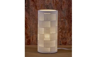 HGD Holz - Glas - Design Porzellanlampe - Zylinder Rechteck kaufen