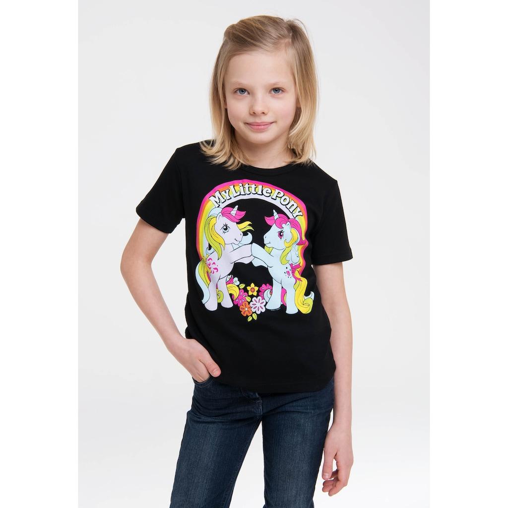 LOGOSHIRT Print-Shirt »My Little Pony«, im lizenzierten Originaldesign