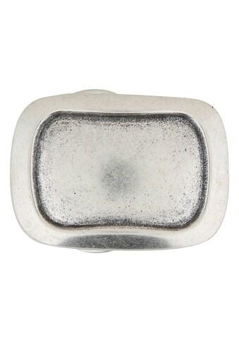 RETTUNGSRING by showroom 019° Gürtelschnalle »mit Rechteckt«, in eingefasstem Design kaufen