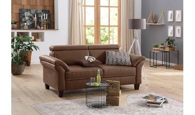 Home affaire 2,5-Sitzer »Arngast«, inklusive Kopfteilverstellung, Federkern kaufen