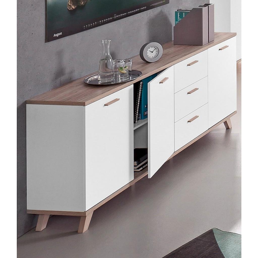 GERMANIA Sideboard »Oslo«, Breite 196 cm