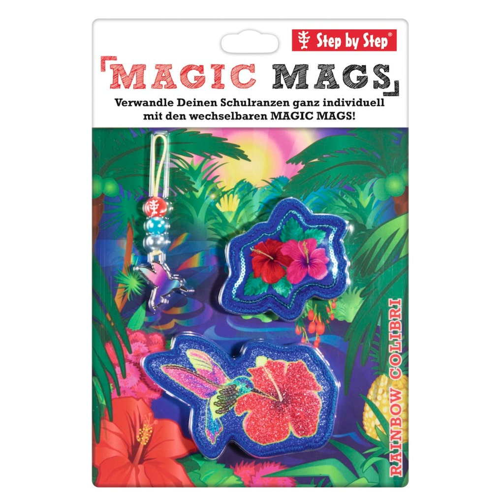 "Step by Step MAGIC MAGS ""Rainbow Colibri"""