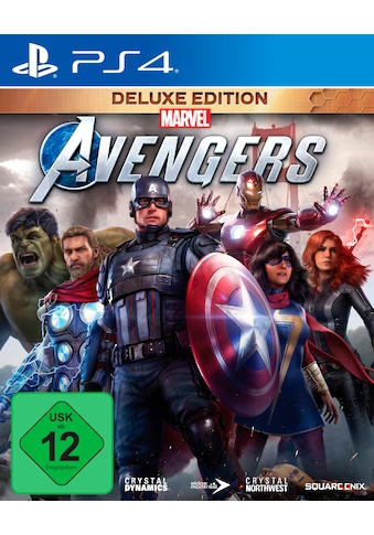 SquareEnix Spiel »Marvel's Avengers Deluxe Edition«, PlayStation 4 kaufen