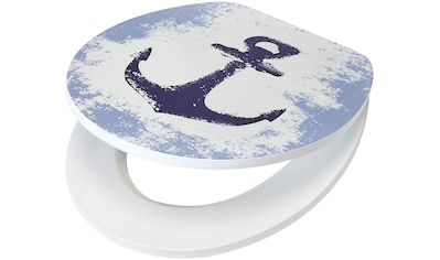 WC - Sitz »Anker«, MDF Toilettensitz mit Absenkautomatik kaufen