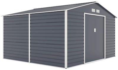 KONIFERA Set: Gerätehaus »Evan«, BcTxH: 340x319x205 cm kaufen