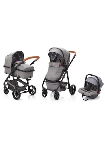 Fillikid Kombi-Kinderwagen »Panther, hellgrau«, 22 kg, mit Babyschale; Kinderwagen kaufen