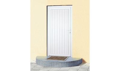 KM MEETH ZAUN GMBH Mehrzweck - Haustür »K608P«, BxH: 88x188 cm, weiß, in 2 Varianten kaufen