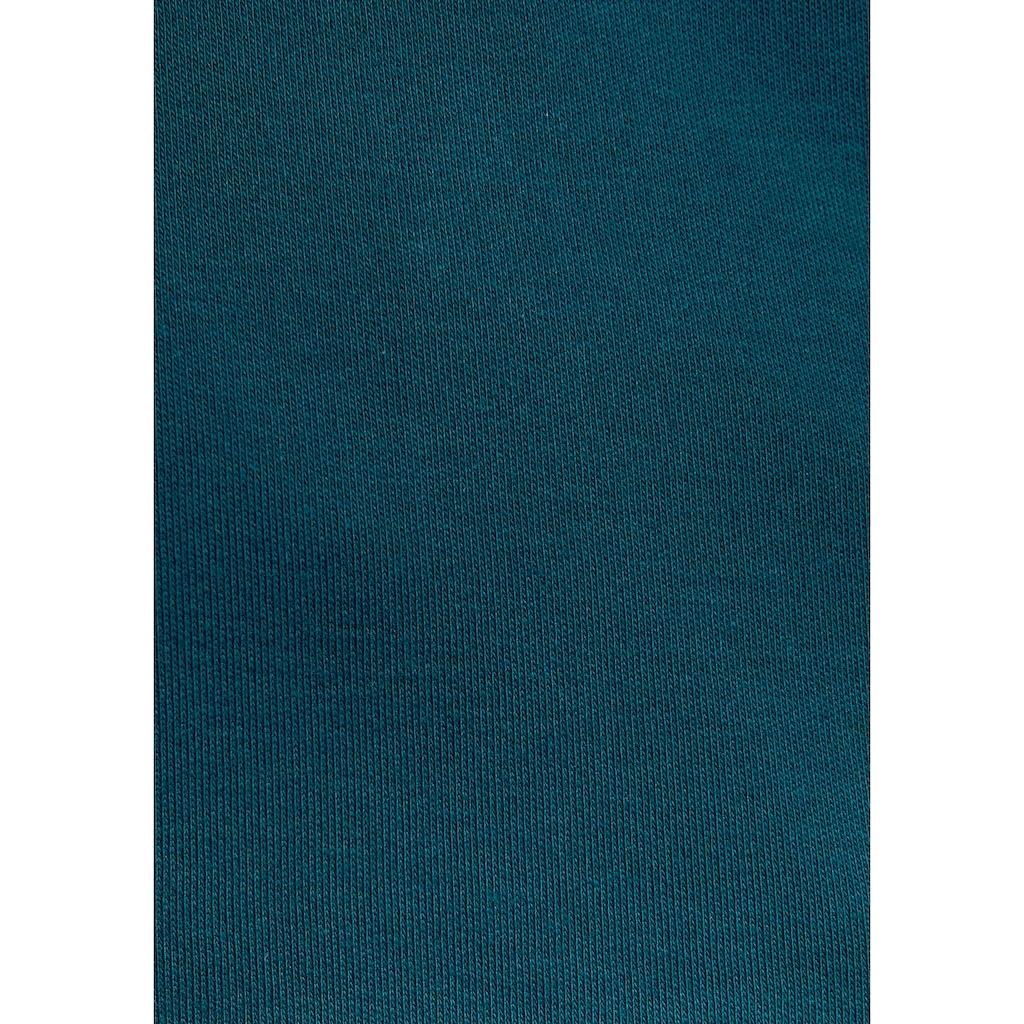 KangaROOS Kapuzensweatjacke, mit bedruckter Innenseite