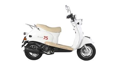 Mofaroller »Venus«, 50 ccm, 25 km/h, Euro 4, inkl. Topcase, Limited Edition kaufen