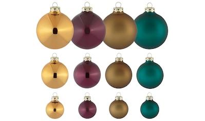 "Thüringer Glasdesign Weihnachtsbaumkugel ""Christmas Chic"" kaufen"