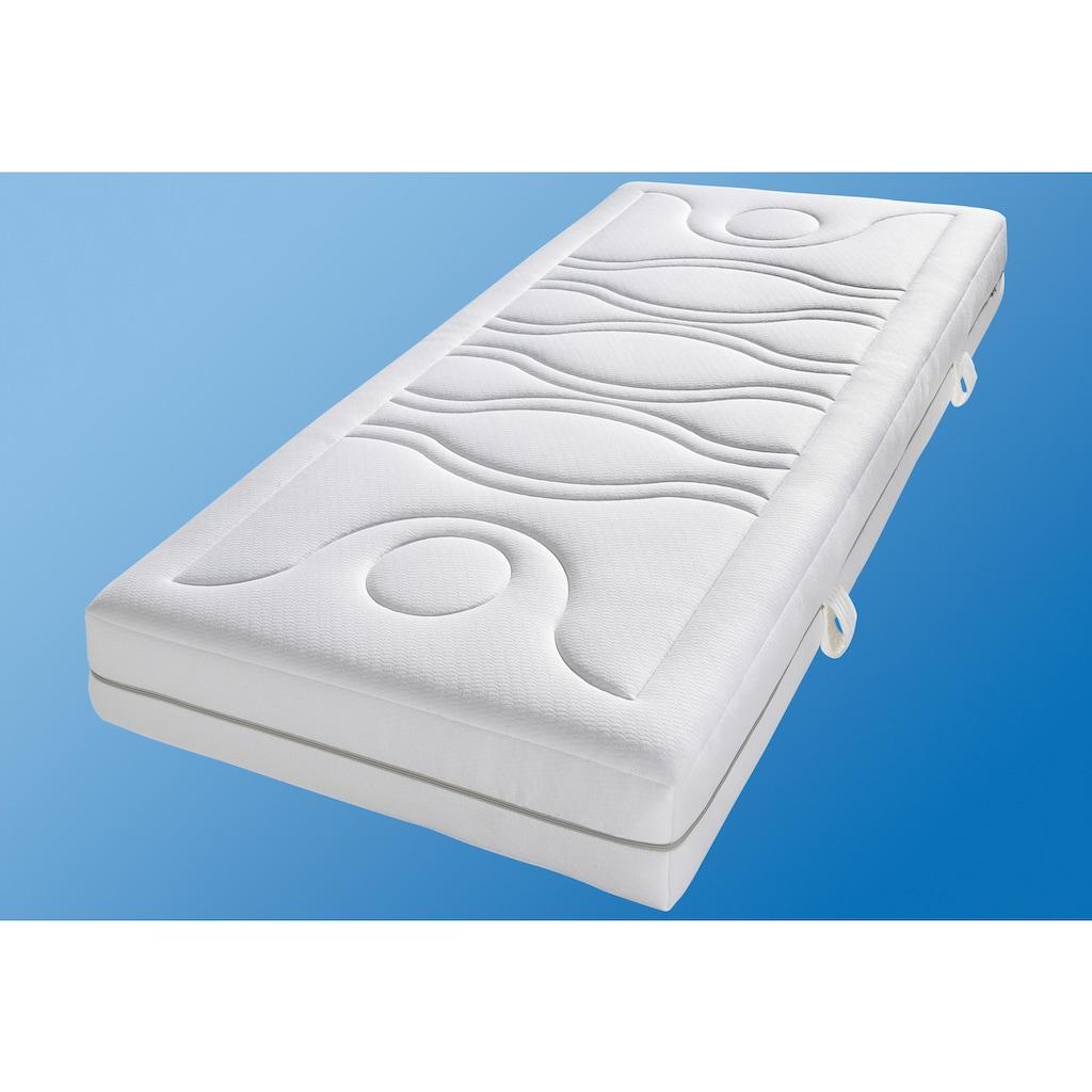 Breckle Taschenfederkernmatratze »TFK First Quality«, 1000 Federn, (1 St.), Ein Plus an Komfort und Design