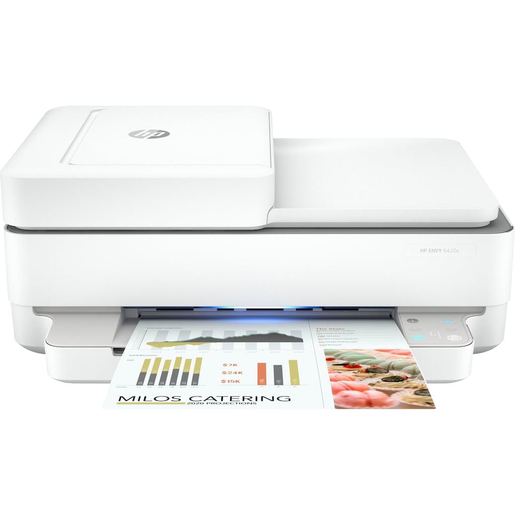 HP WLAN-Drucker »ENVY 6420e AiO Printer A4 color 7ppm«