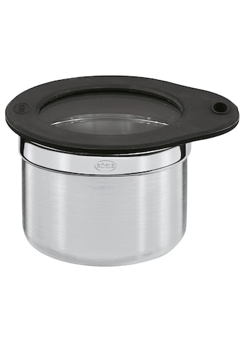 RÖSLE Frischhaltedose, (1 tlg.), zur Aufbewahrung von Lebensmitteln, Glasdeckel mit... kaufen