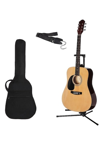 Gitarrenset »Westerngitarre«, 4/4, mit Tasche und Gitarrengurt kaufen