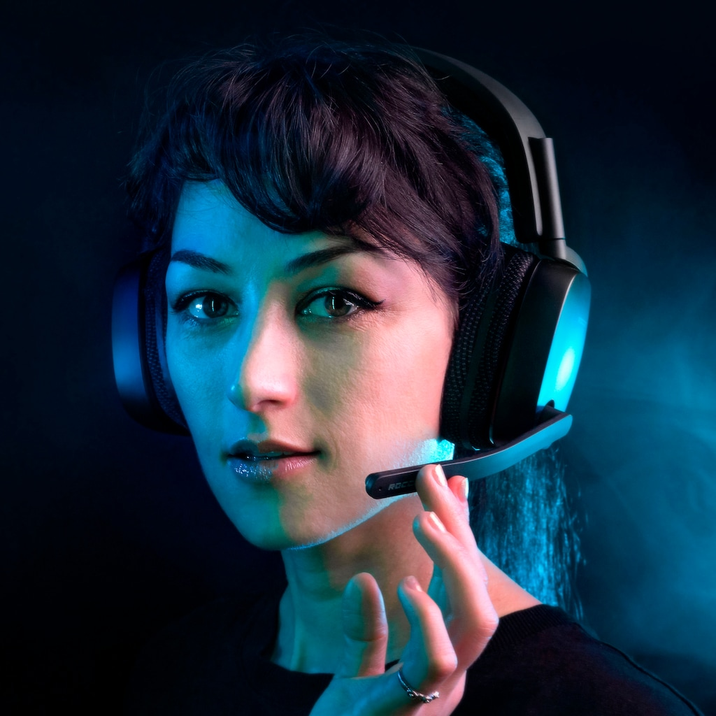 ROCCAT Gaming-Headset »SYN Pro Air«, WLAN (WiFi), Noise-Cancelling