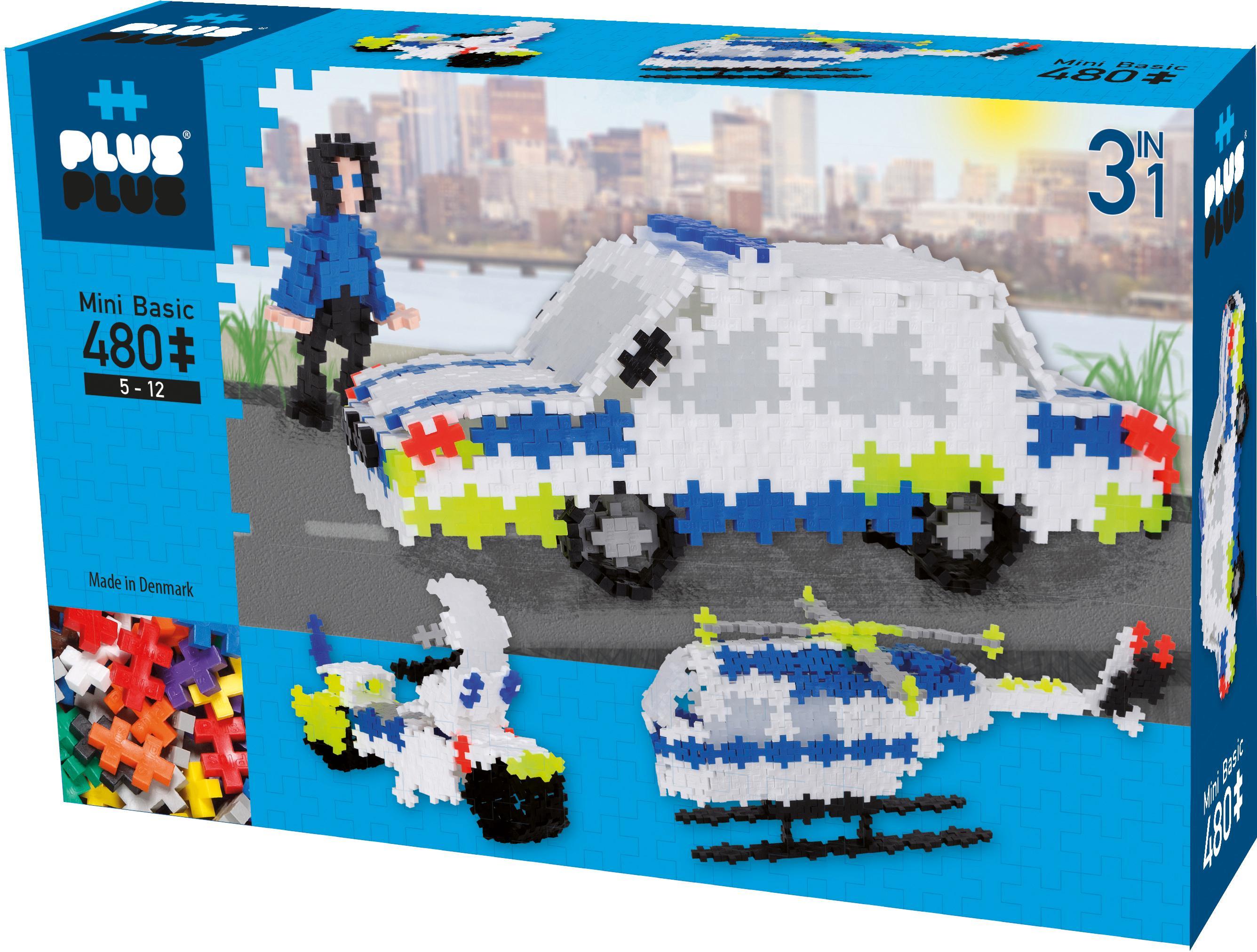 """3D-Puzzle """"Mini Basic Polizei"""" Kindermode/Spielzeug/Gesellschaftsspiele/Puzzle/3D Puzzle"""
