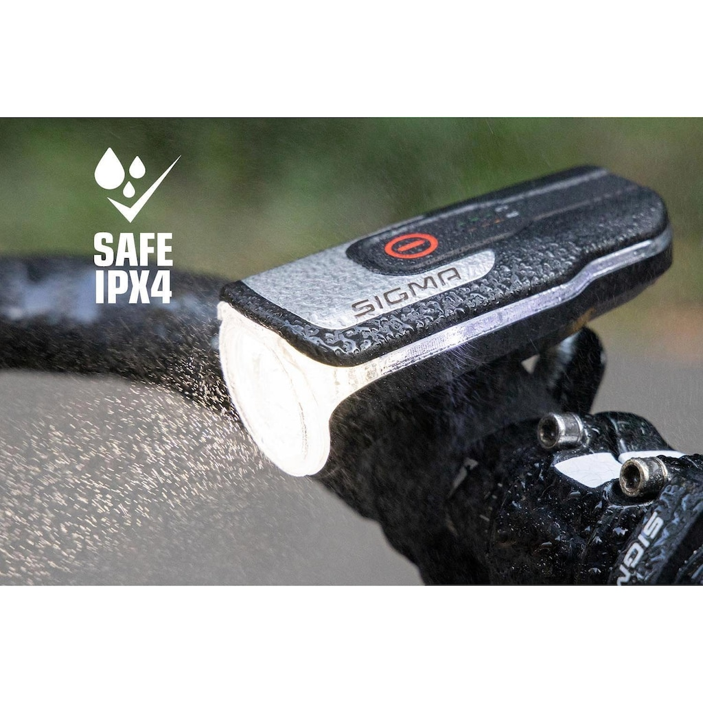SIGMA SPORT Fahrradbeleuchtung »AURA 80 USB Frontleuchte«, (2)