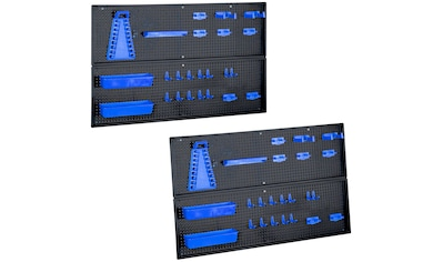 KREHER Werkzeug - Lochwand 2er Set, inkl. 48 - tlg. Zubehör kaufen