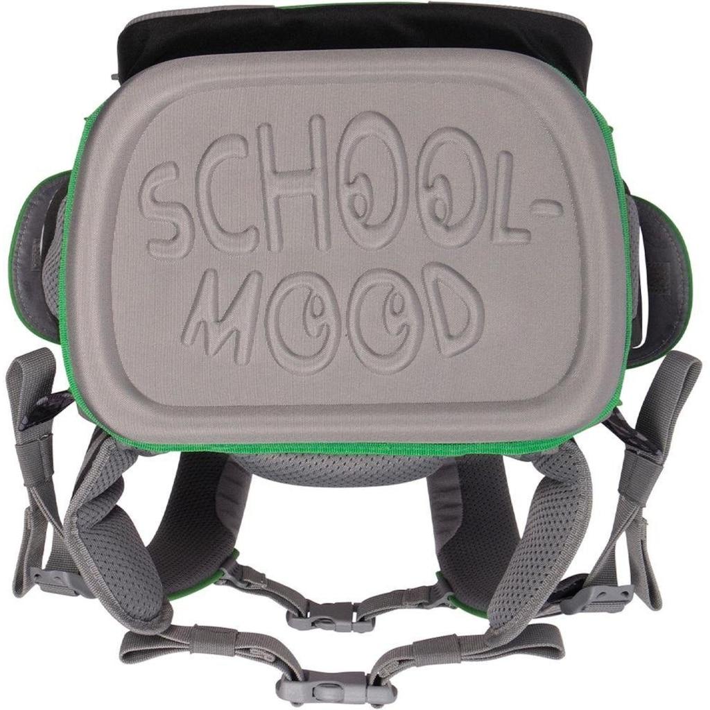 SCHOOL-MOOD® Schulranzen »Timeless Air, Leon«, Reflektoren-retroreflektierende Flächen