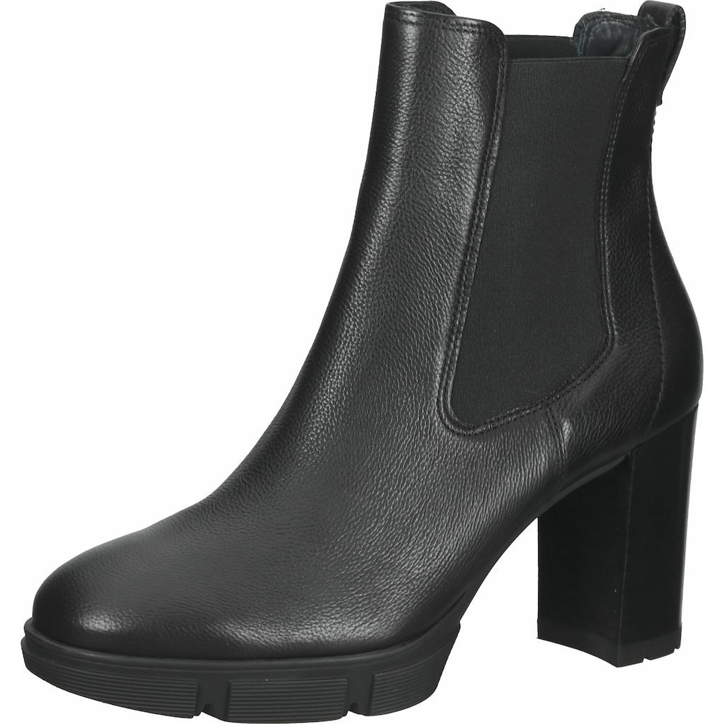 Paul Green High-Heel-Stiefelette »Leder/Textil«