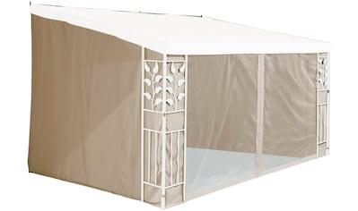 KONIFERA Seitenteile für Anbaupavillon »Salina 2«, 3x3 m / 3x4 m, sandfarben kaufen