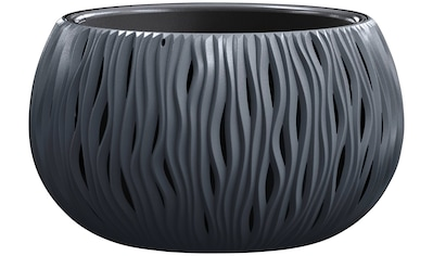 PROSPERPLAST Blumenkübel »Sandy Bowl«, anthrazit, ØxH: 37x21 cm kaufen