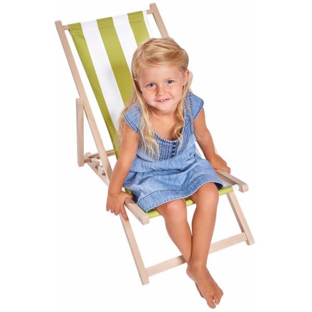 Eichhorn Stuhl »Eichhorn Outdoor, Kindersonnenliege«, für Kinder; Made in Europe