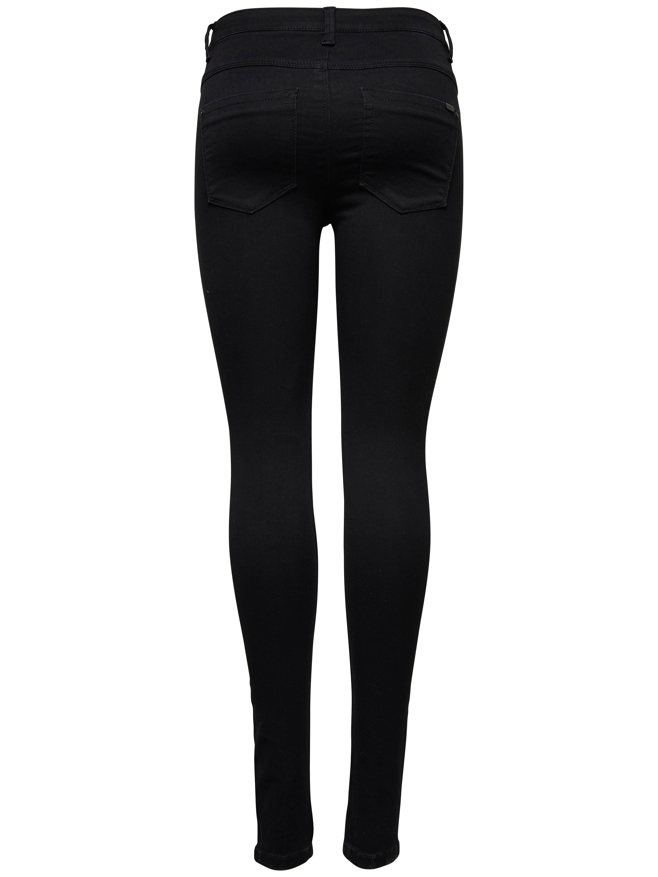 Only High-waist-Jeans ROYAL | Bekleidung > Jeans > High Waist Jeans | Schwarz | Jeans | Only