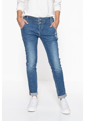 ATT Jeans Boyfriend-Jeans »Kira«, mit verdeckter Knopfleiste kaufen