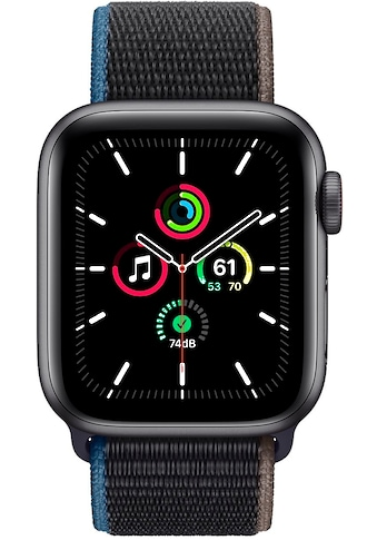 Apple SE GPS + Cellular, Aluminiumgehäuse mit Sport Loop 40mm Smartwatch (Watch OS 6) kaufen