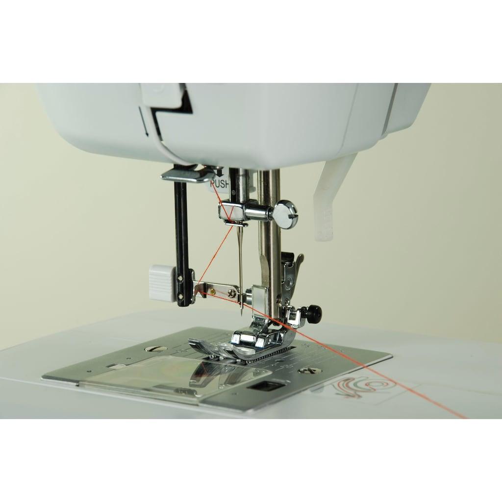 Carina Computer-Nähmaschine »Comfort«, 40 Programme, mit Zubehör