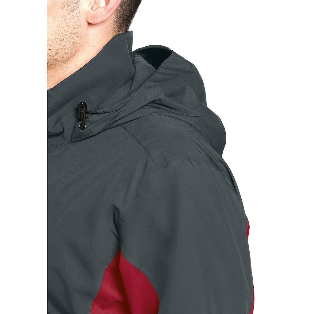 Maier Sports Funktionsjacke »Halny M«, Sportliche Outdoorjacke mit zuverlässigem Wetterschutz