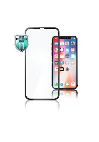 Hama 3D - Full - Screen - Schutzglas für Apple iPhone Xs Max, Schwarz kaufen