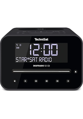 TechniSat DAB+/UKW - Radiowecker mit CD - Player, Wireless - Charging - Funktion »DIGITRADIO 52 CD« kaufen