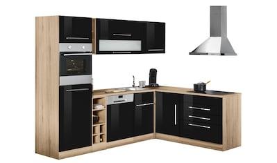 HELD MÖBEL Winkelküche »Eton«, ohne E-Geräte, Stellbreite 260 x 190 cm kaufen