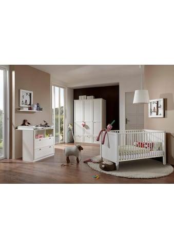 Babyzimmer-Komplettset »Helsingborg«, (Set, 3 tlg.), Bett + Wickelkommode + 3 trg. Schrank kaufen