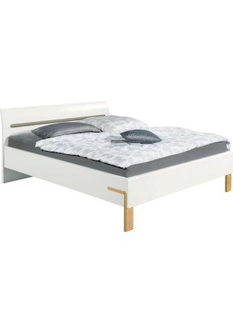 hülsta Bett »DREAM«, Breite 180 cm, mit schön geformten Kopfteil in Lack weiß, inklusive Liefer- und Montageservice durch hülsta Monteure kaufen
