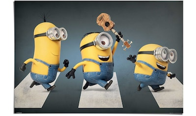 Reinders! Poster »Minions Abbey Road«, (1 St.) kaufen