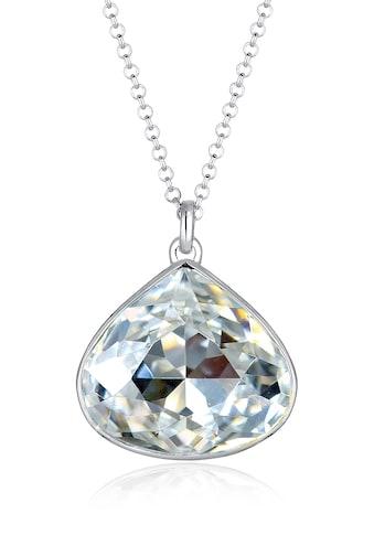 Elli Collierkettchen »Stein Kristalle 925 Sterling Silber« kaufen