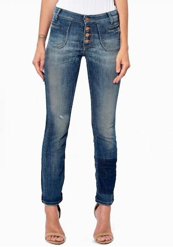 Kaporal Slim-fit-Jeans »LUCKY«, mit 4-Knopfverschluss kaufen