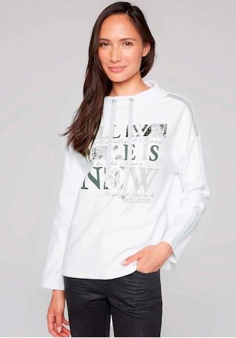 SOCCX Sweater, mit glitzerndem Frontprint kaufen