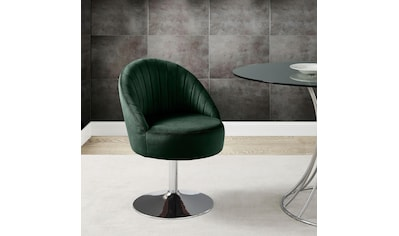 Leonique Drehstuhl »Toulouse«, in modernem Design, it Ziernähten im Rücken, Esszimmerstuhl, Polsterstuhl kaufen