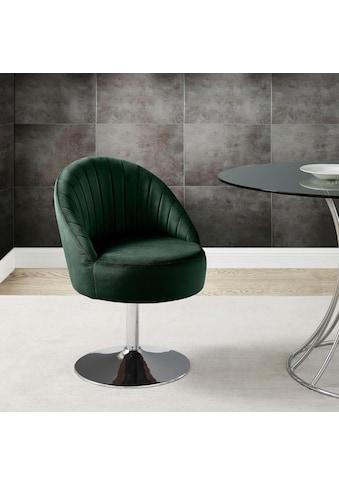 Leonique Drehstuhl »Toulouse«, in modernem Design, it Ziernähten im Rücken,... kaufen