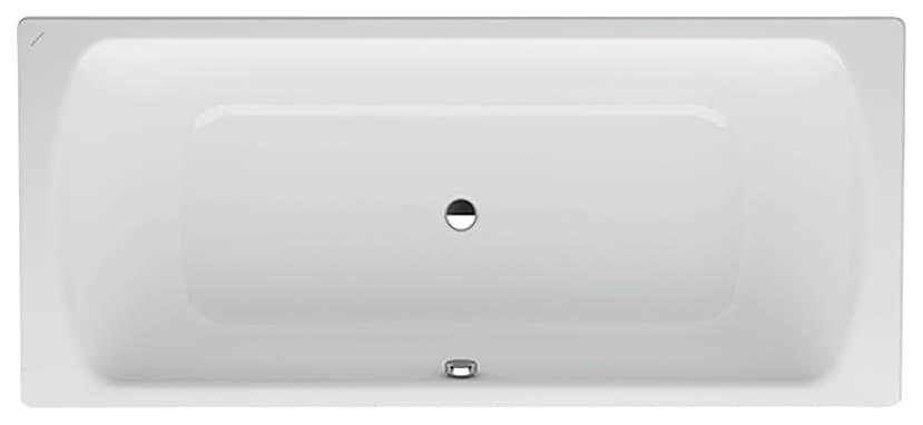 Laufen Badewanne Pro, 180/80 cm weiß Badewannen Whirlpools Bad Sanitär