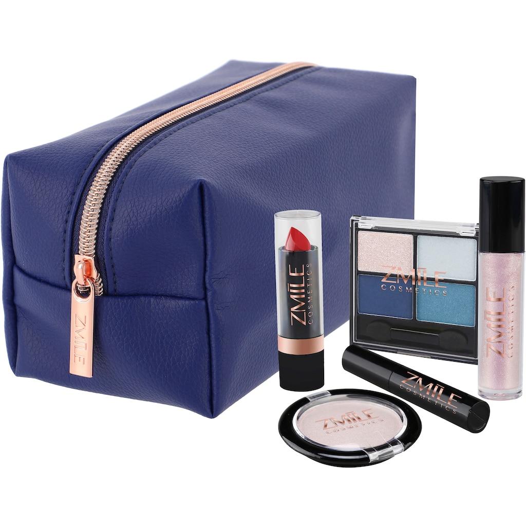 ZMILE COSMETICS Kosmetik-Set »Beauty in the bag! Blue«, (10 tlg.)