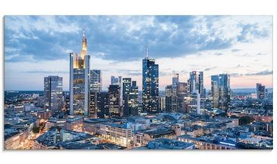 Artland Glasbild »Frankfurt am Main Skyline I«, Deutschland, (1 St.) kaufen